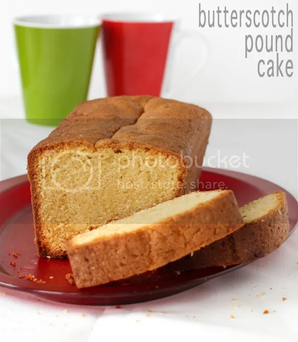 butterscotch pound cake