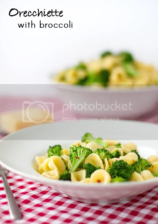 Orecchiette with broccoli