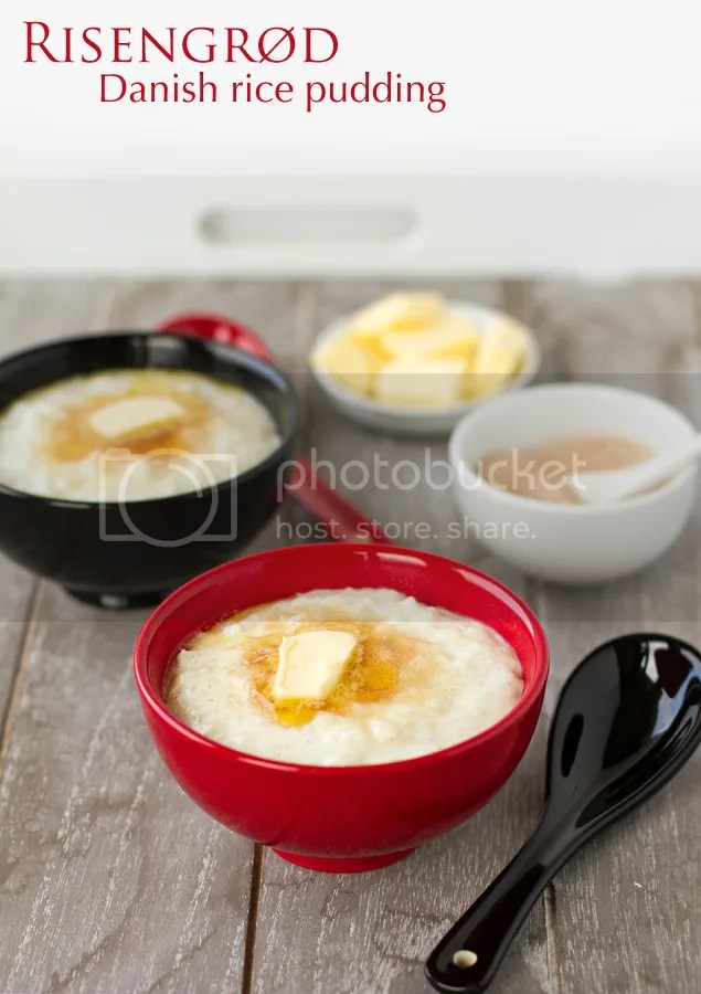 Risengrød - Danish rice pudding