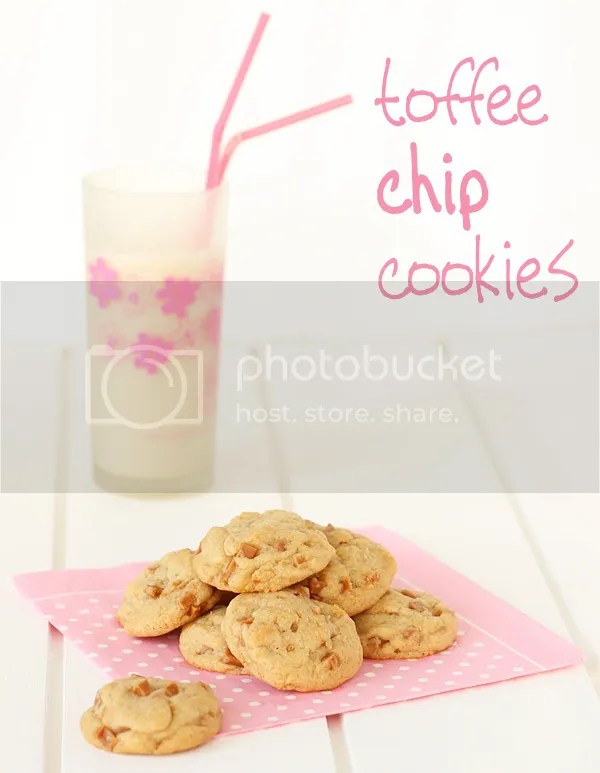 Toffee chip cookies
