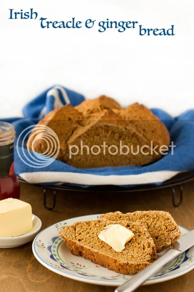 Irish treacle and ginger bread
