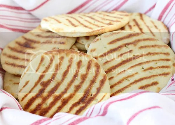 Flatbreads with greek yoghurt & cumin seeds