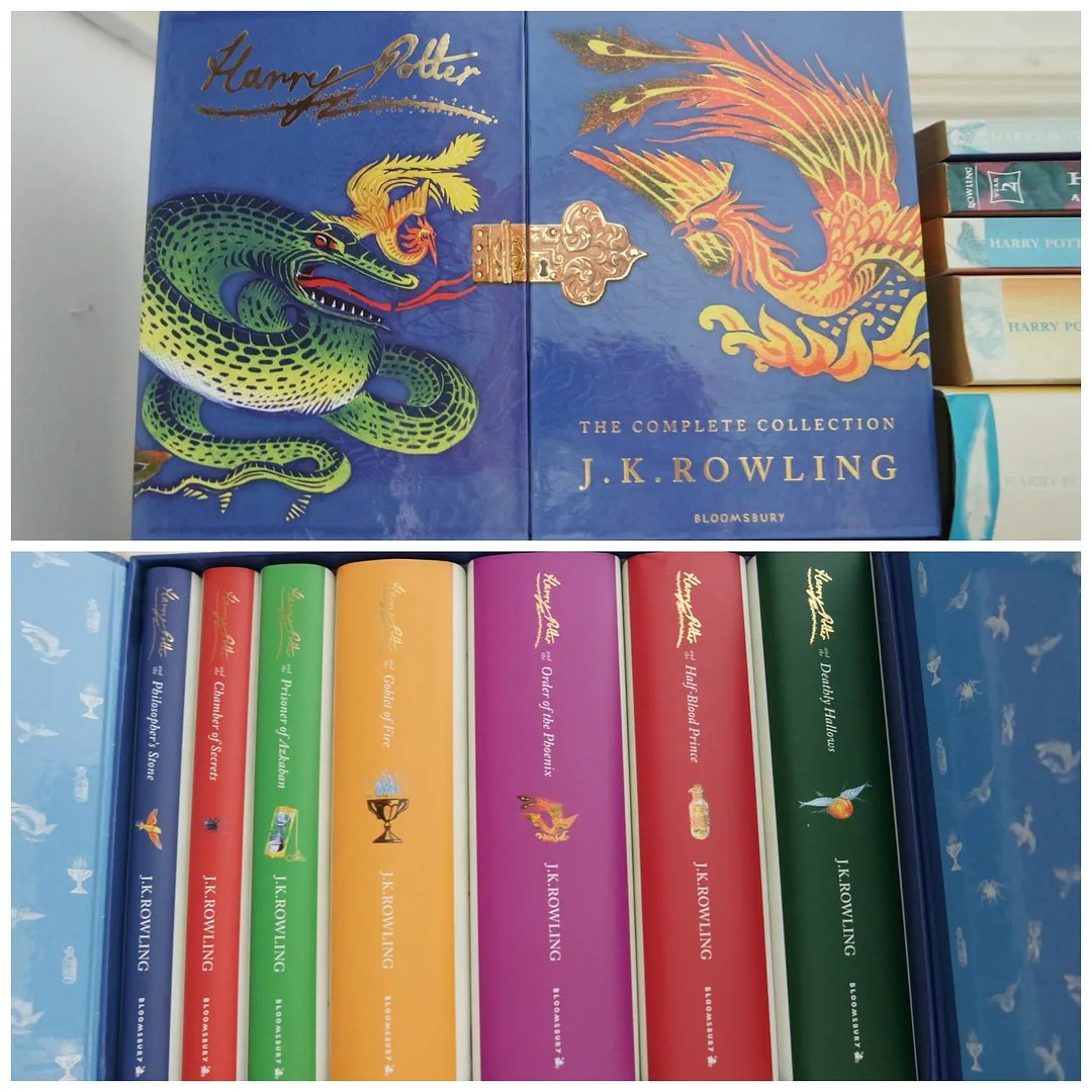 Harry Potter Signature Hardcover collection