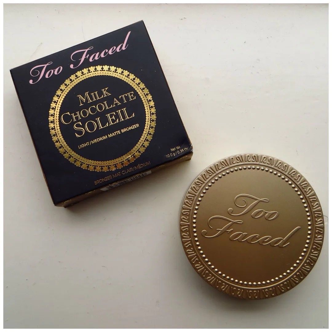 Too Faced Milk Chocolate Soleil bronzer – Floating in dreams