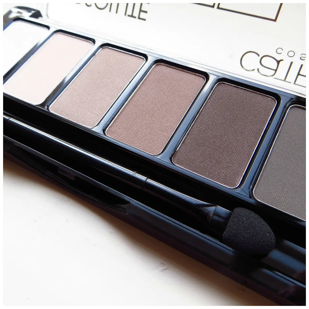 Catrice Absolute Matt eyeshadow palette review