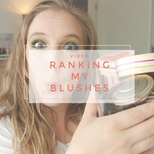 ranking my blush collection