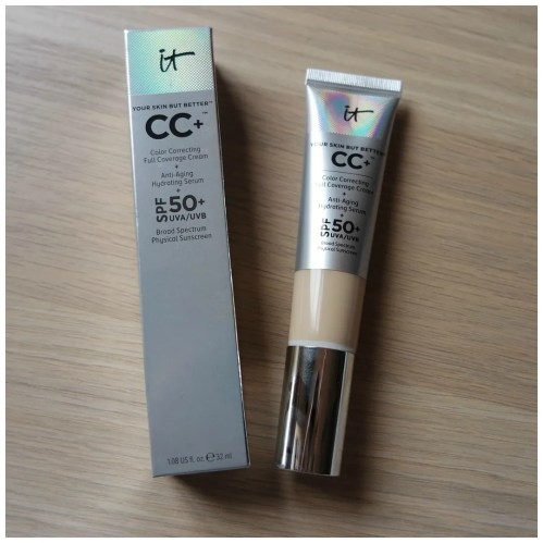 it cosmetics cc cream fair foundation review swatch
