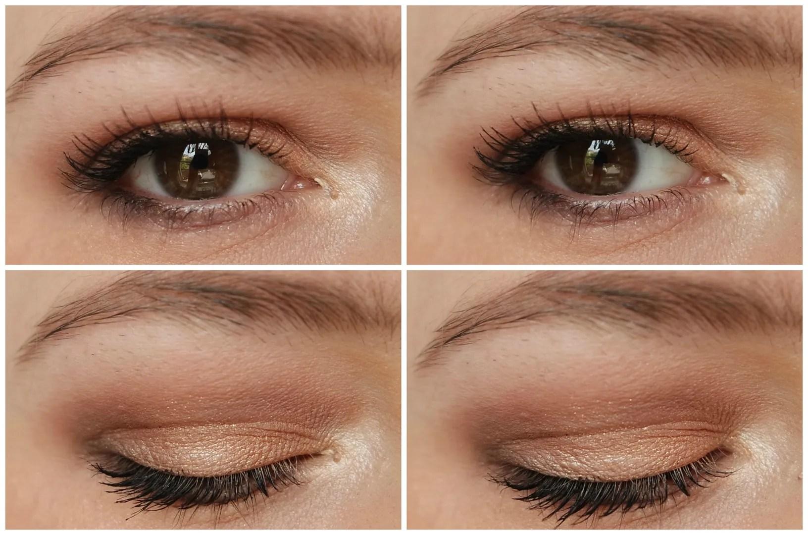MAC Single eye shadows Honey Lust, Corduroy, Embark, Beauty Marked