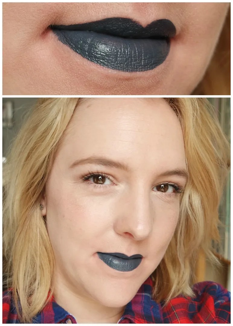 NYX Liquid Suede lipsticks in Stone Fox