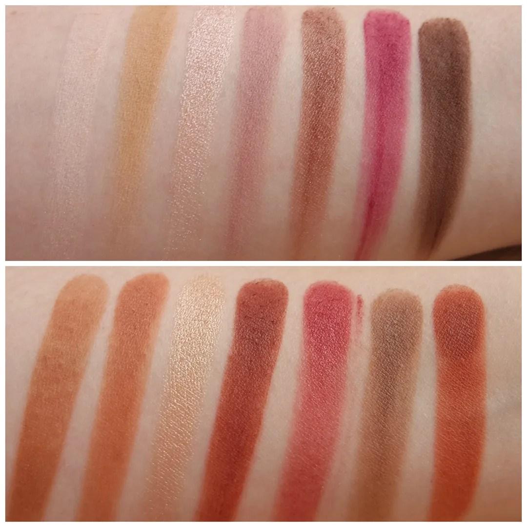 Anastasia Beverly Hills Modern Renaissance eyeshadow palette swatch