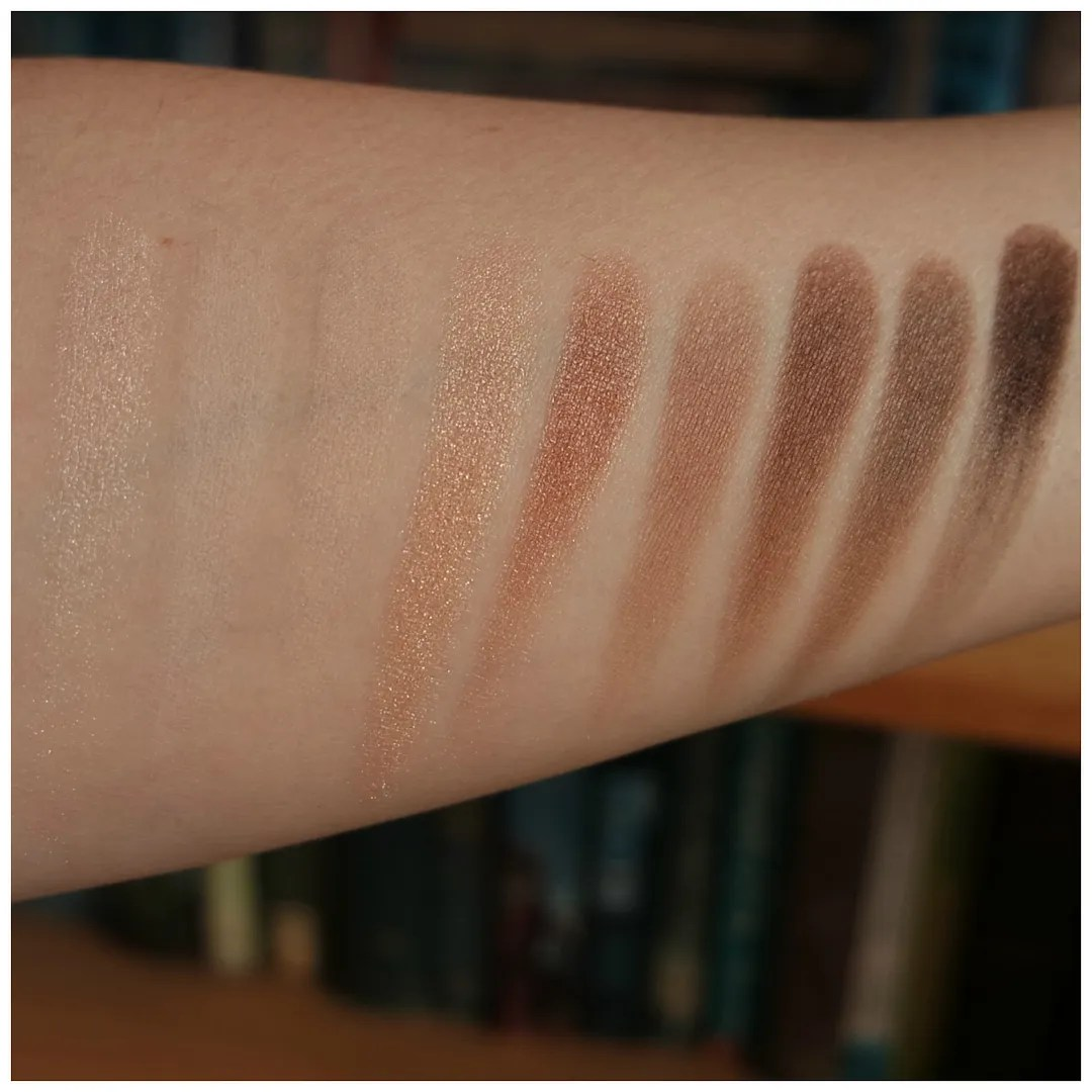 Catrice The Essential Nude Eyeshadow Palette Review Swatch