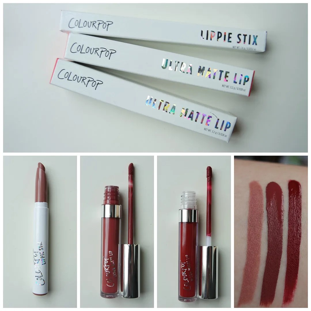 Colourpop Lippie Stix matte Tootsie Colourpop Ultra Matte Lip Tulle & Avenue