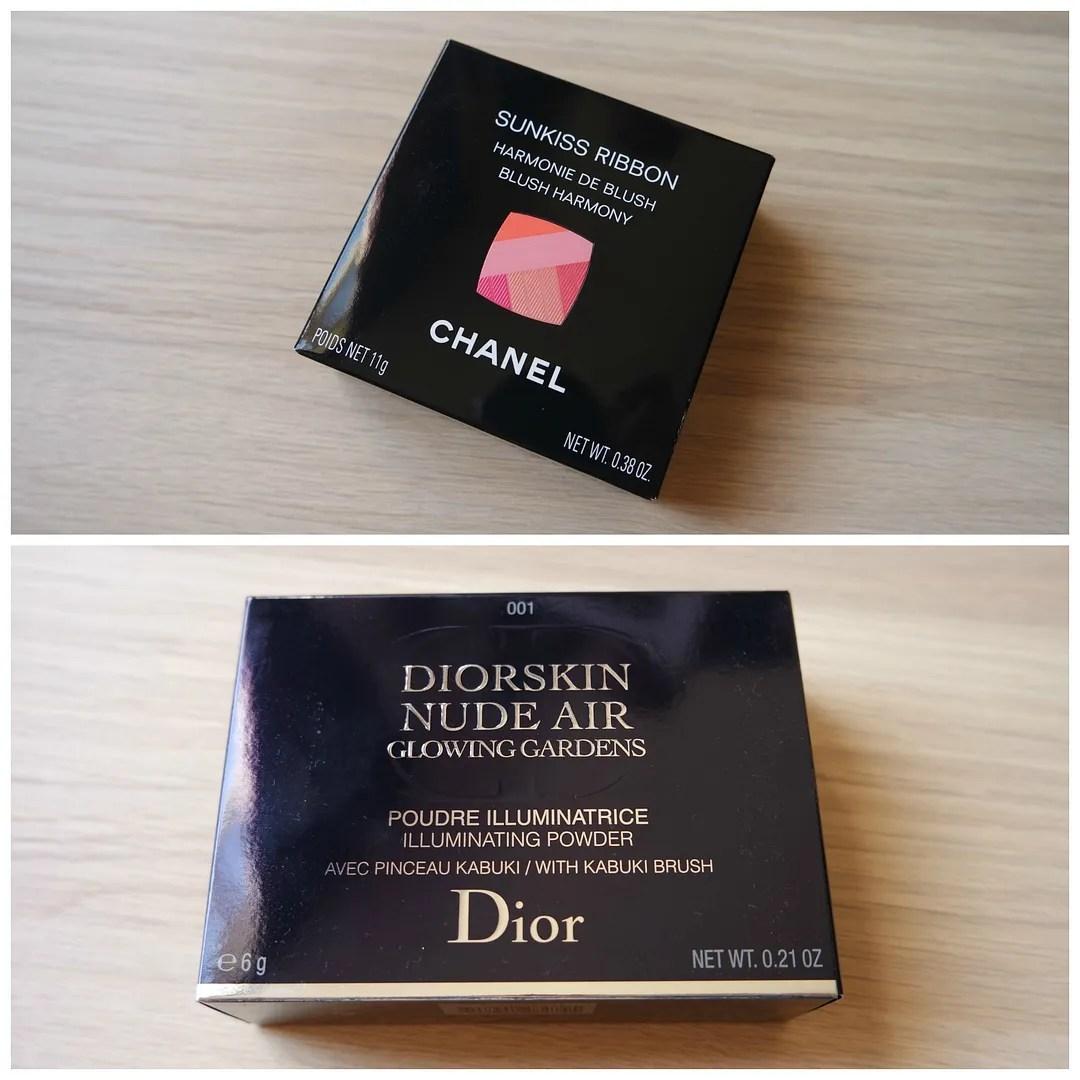 Chanel Dior limited edition spring 2016 LA Sunrise Sunkiss Ribbon Glowing Gardens