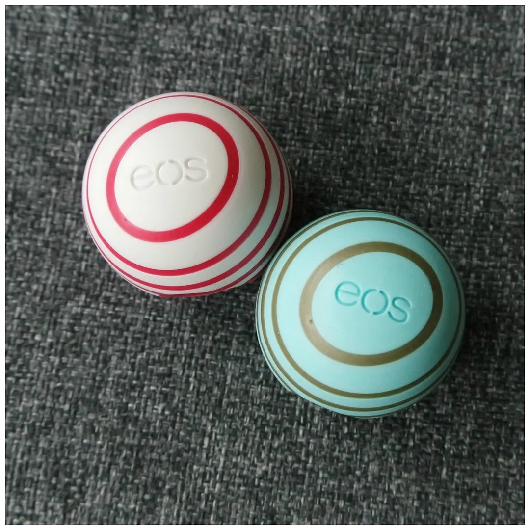 eos christmas holiday 2017 limited edition berry blossom honey apple peppermint