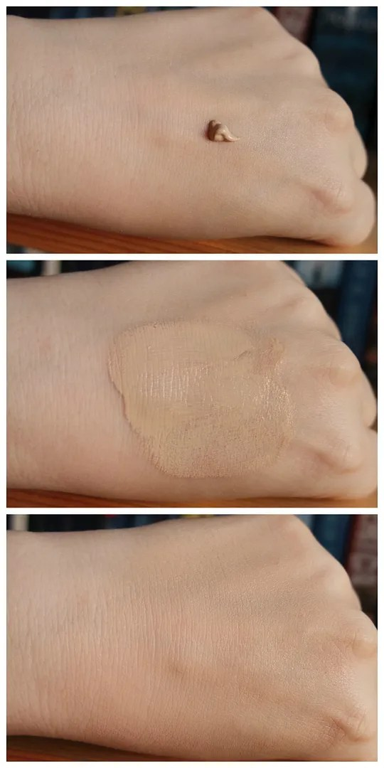 essence fresh & fit foundation review swatch 10 fresh ivory