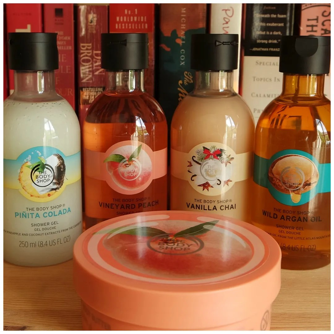 current favorite the body shop scents smell bodycare shower gel