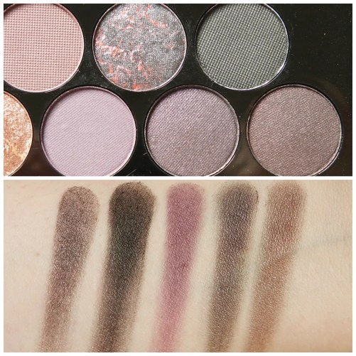 Make Up Revolution Fortune Favours the Brave eyeshadow palette