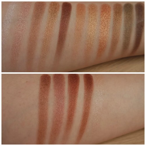 I Heart Make Up Golden Bar eyeshadow palette review swatch