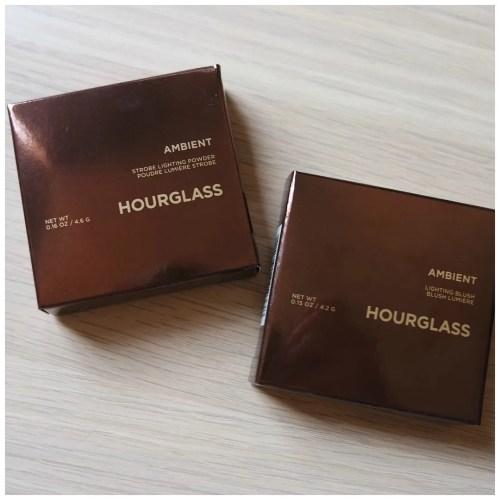 Hourglass Ambient Lighting Blush Strobe Light Powder Mood Exposure Iridescent Strobe Light Review Swatch
