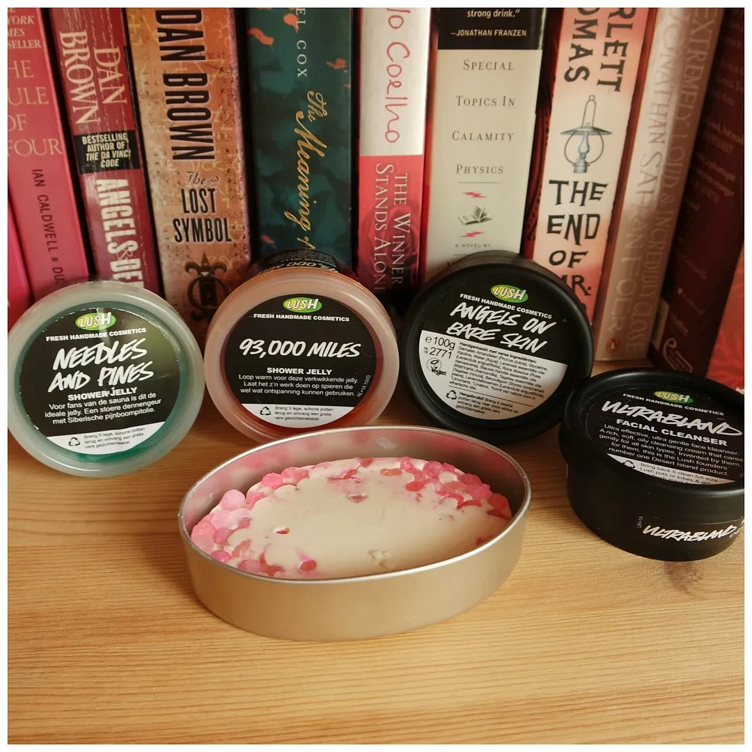 lush favorites ultrabland angels on bare skin massage bar shower jelly