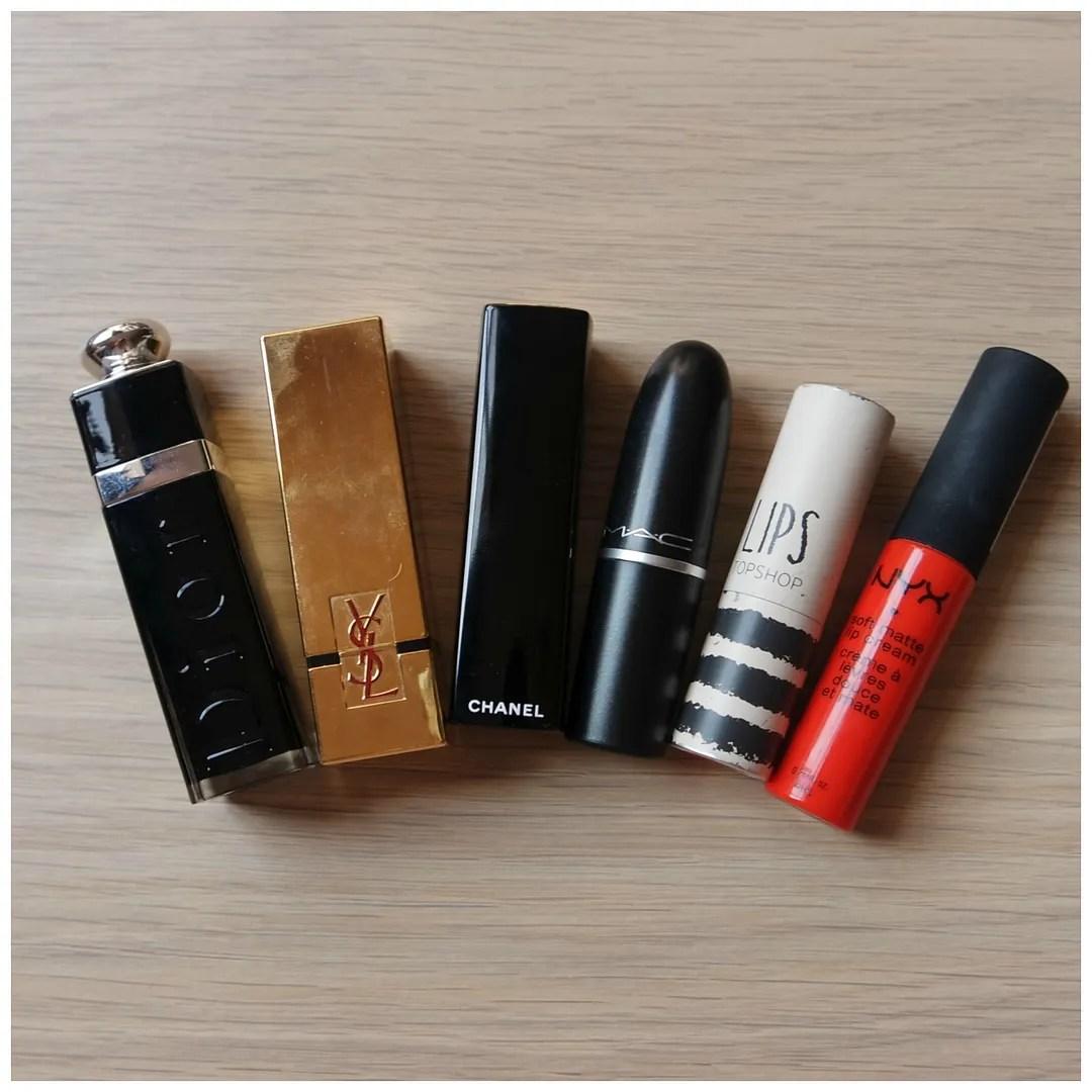 summer red lipsticks