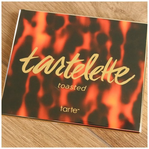 tarte tartelette toasted eyeshadow palette review swatch