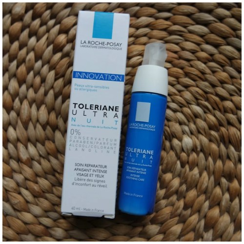 la roche posay toleriane ultra nuit review swatch skincare