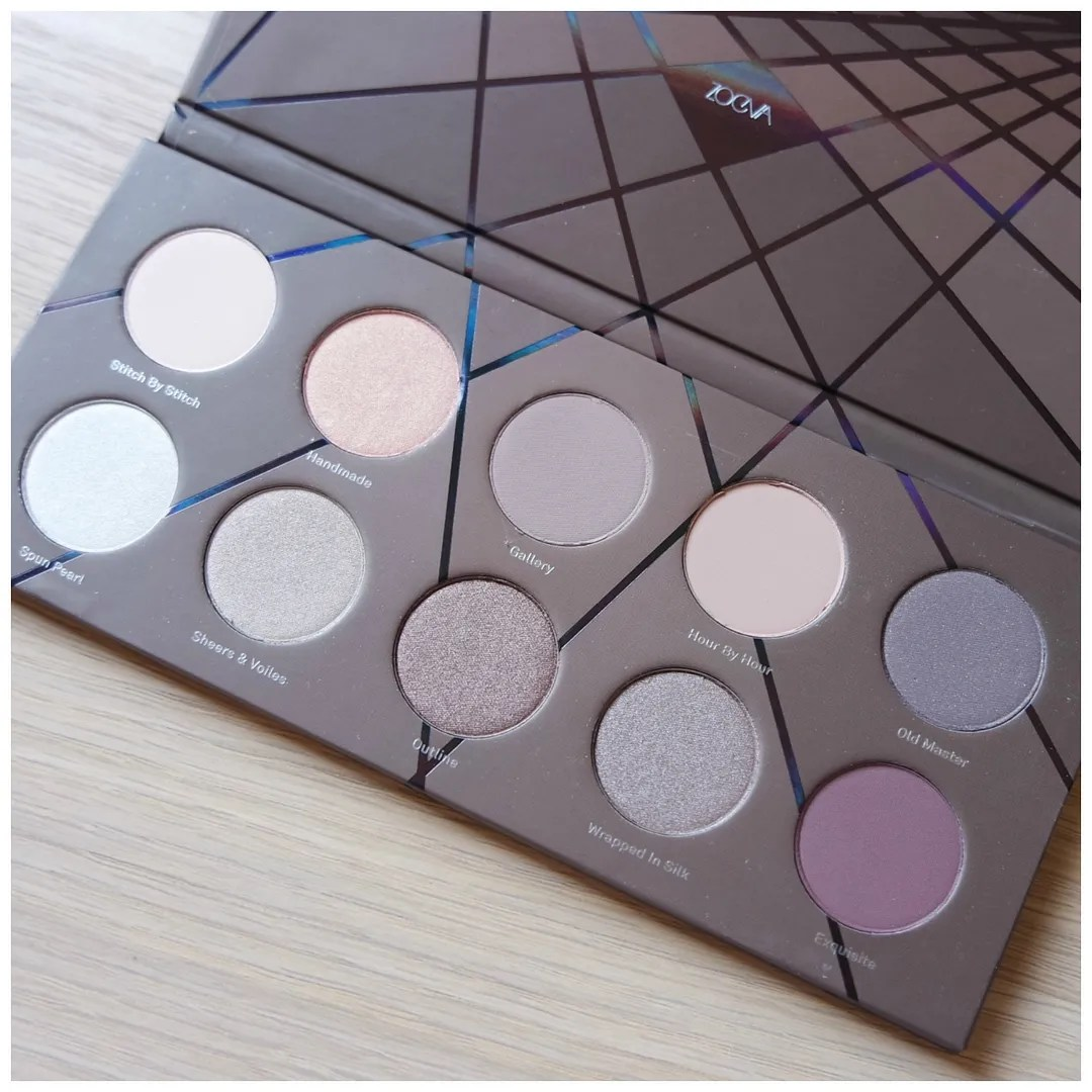 Zoeva En Taupe eyeshadow palette review