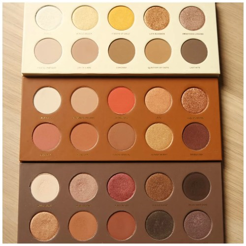 Zoeva Plaisir Box: Blanc Fusion, Caramel Melange, Cocoa Blend eyeshadow palette