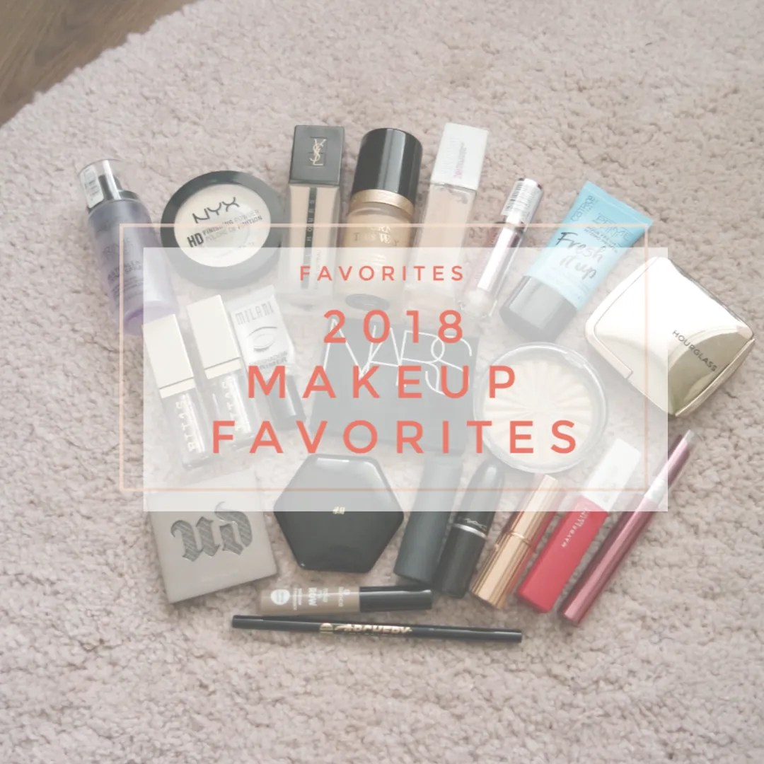 2018 makeup favorites