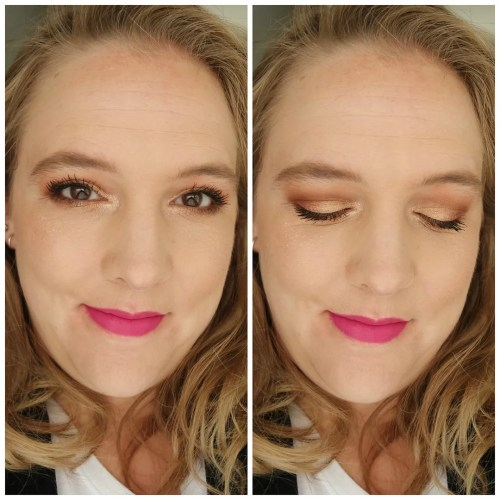 I heart makeup I heart revolution make up revolution mini eyeshadow palette review swatch nude rose gold chocolate mint chocolate orange