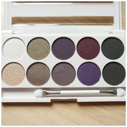 beauty uk posh galaxy eyeshadow palette review swatch