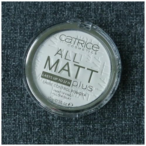 catrice all matt plus face powder universal transparent translucent review swatch