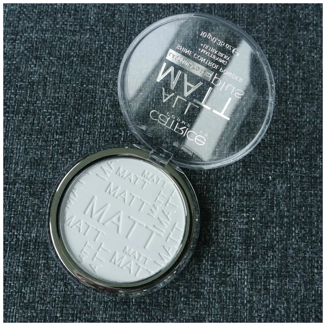 catrice all matt plus face powder universal transparent translucent review swatch
