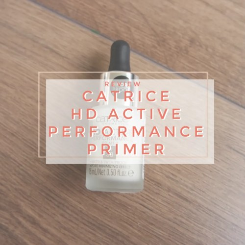 catrice hd active performance primer review swatch