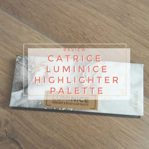 catrice luminice highligh & blush glow face palette review swatch 010 Rose Vibes Only