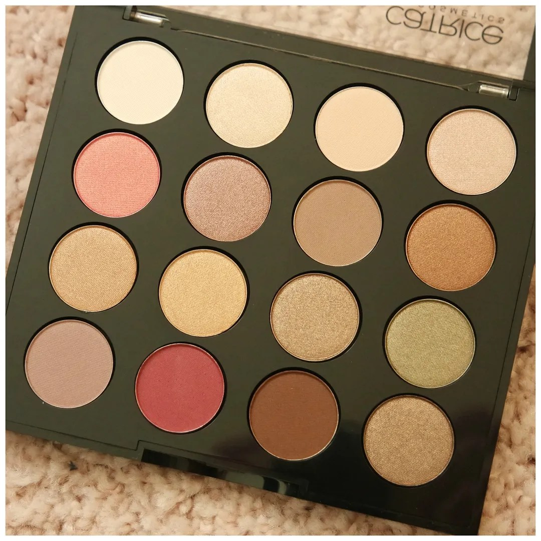 catrice professional artist eyeshadow palette review swatch