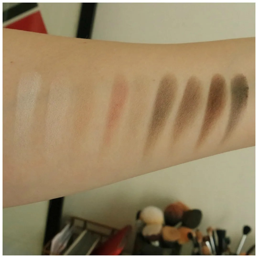 catrice the modern matt collection eyeshadow palette review swatch