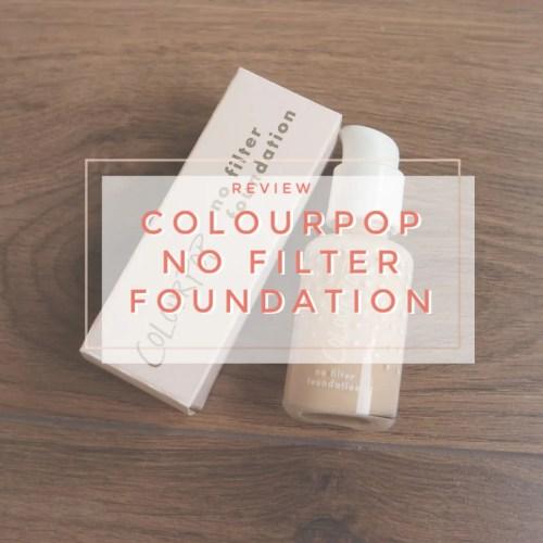 colourpop no filter foundation fair 35 review swatch makeup look shade match