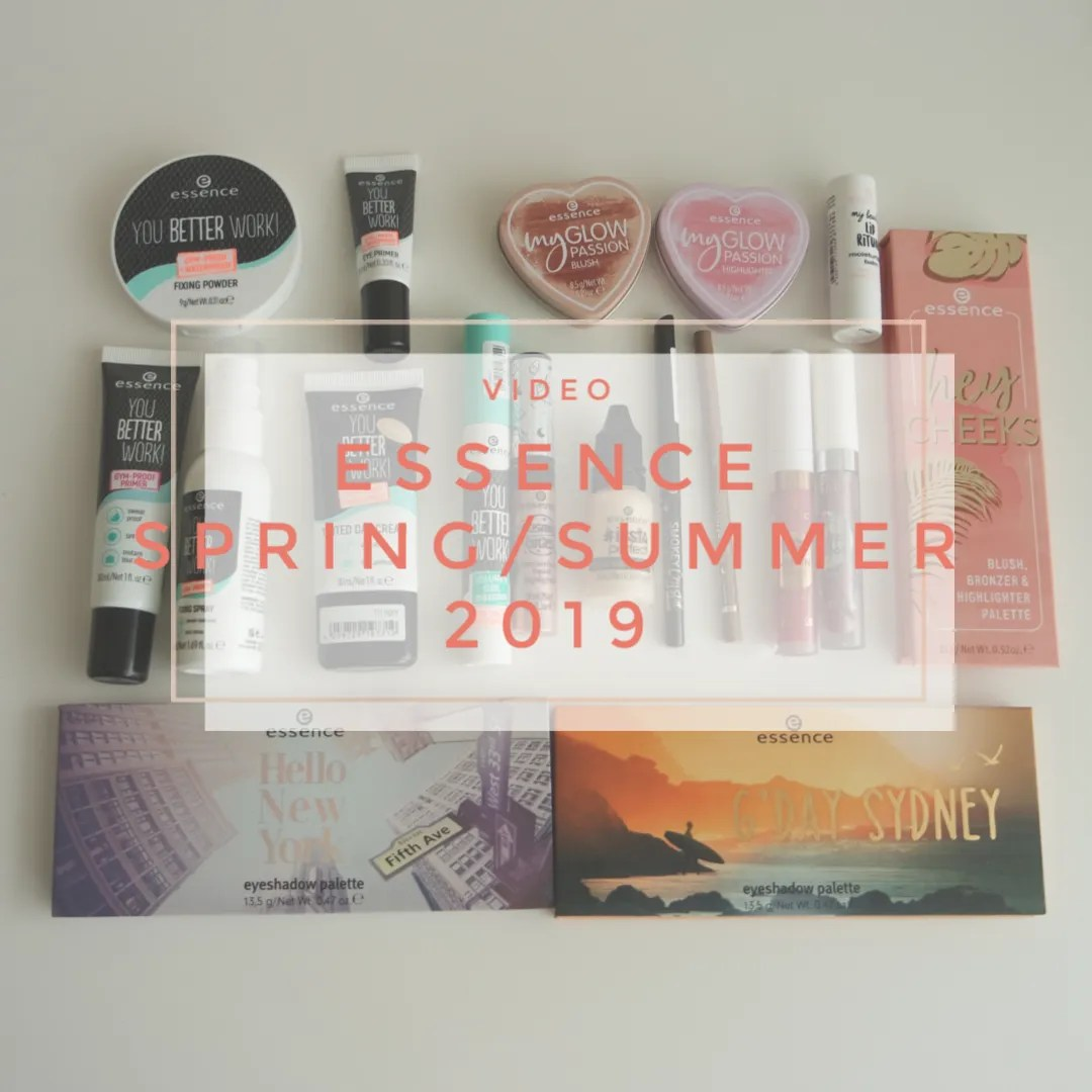 essence makeup spring summer 2019 new in swatch review first impression
