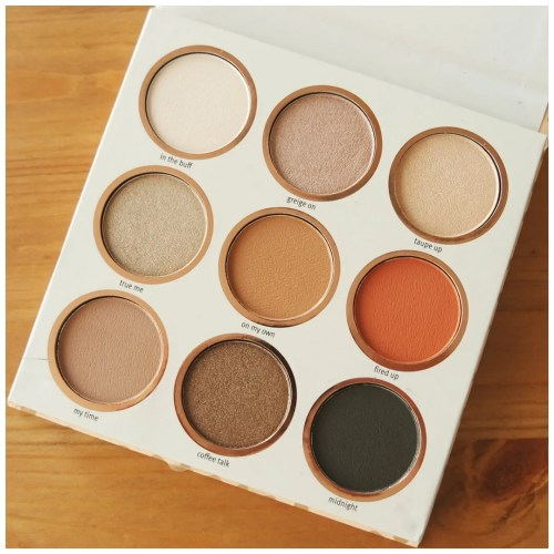 essence be you tiful eyeshadow palette review swatch