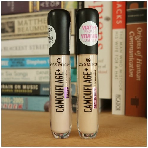 essence camouflage matt healthy glow concealer review swatch light ivory light rose