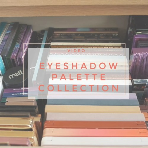eyeshadow palette collection 2019