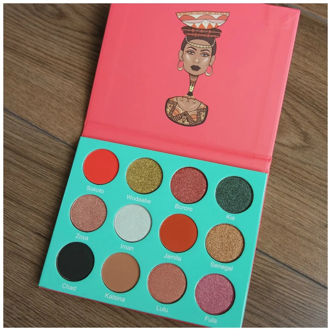 juvia's place the saharan eyeshadow palette review swatch