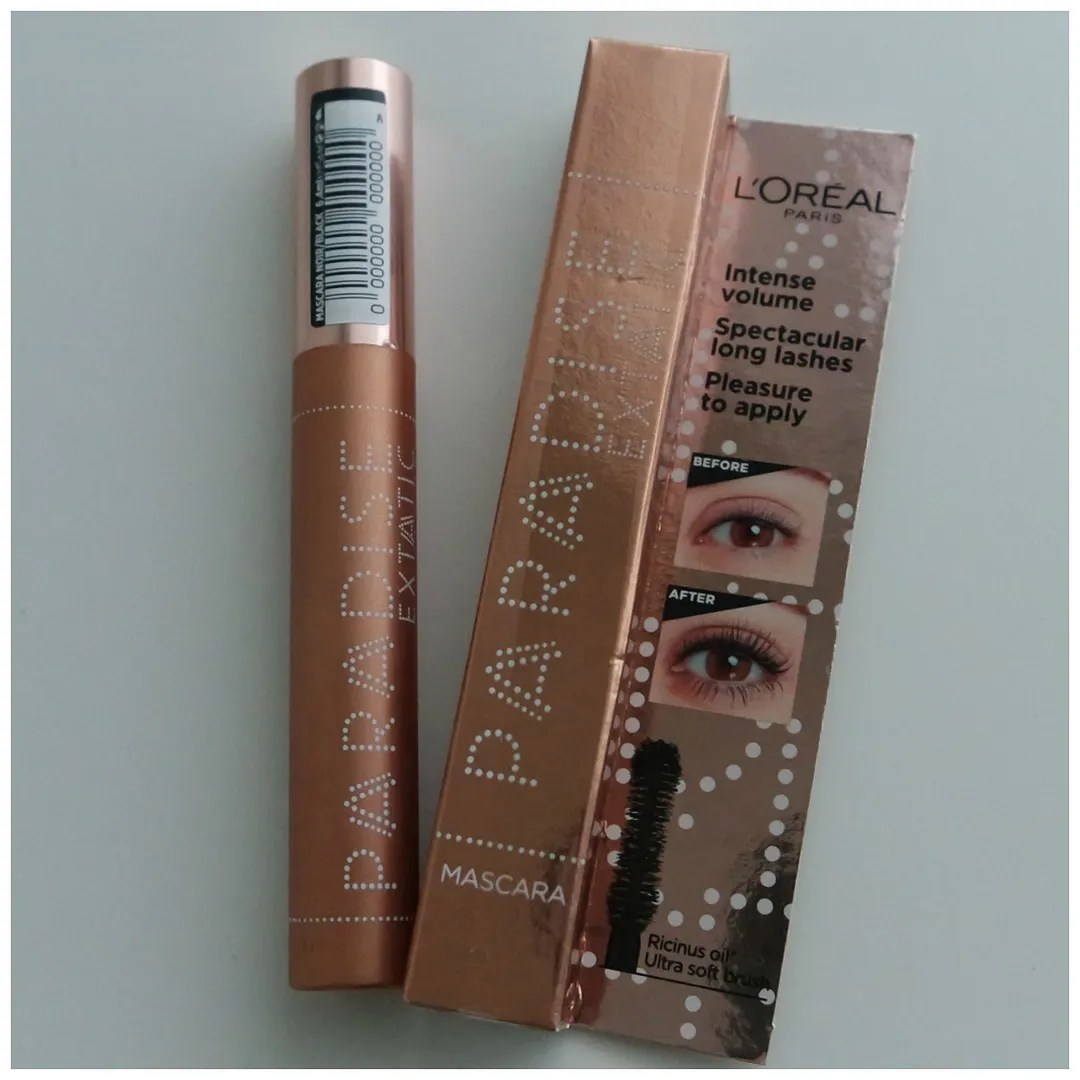 l'oreal paradise extatic mascara lash paradise review swatch