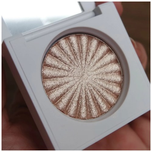 ofra blissful highlighter review swatch application makeup look