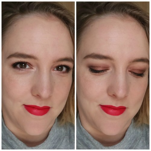 rimmel magif'eyes eye contouring eyeshadow palette 002 london nudes calling review swatch