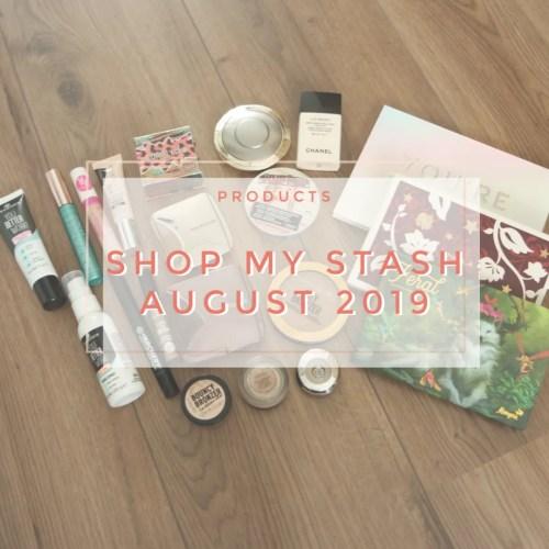 shop my stash august 2019