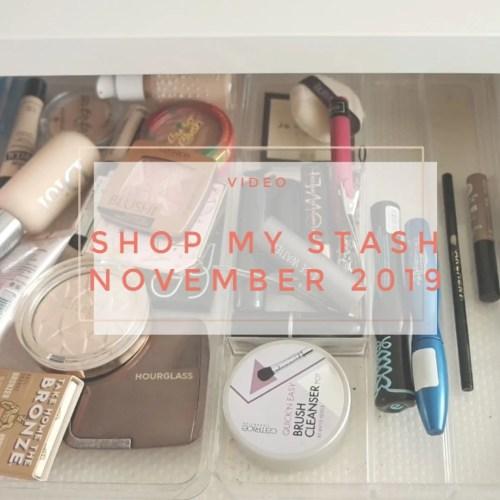 shop my stash november 2019