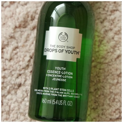 the body shop drops of youth youth essence lotion skincare review swatch
